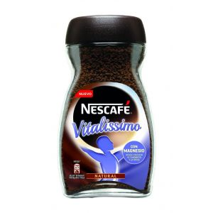 Cafe soluble natural nescafe vitalissimo 200 gr