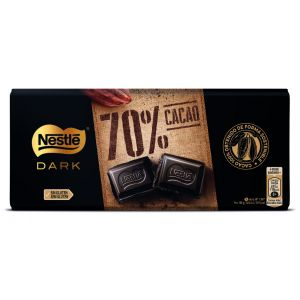 Chocolate negro extrafino 70% nestle  120g
