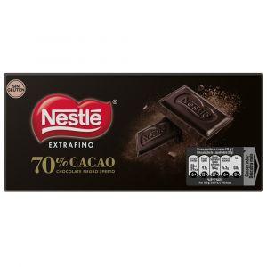 Chocolate negro extrafino 70% nestle  120g