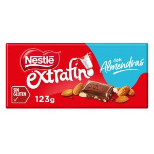 Chocolate  con almendras nestle  123g