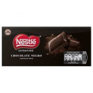 Chocolate negro extrafino  nestle  125g