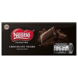 Chocolate negro extrafino  nestle  125g