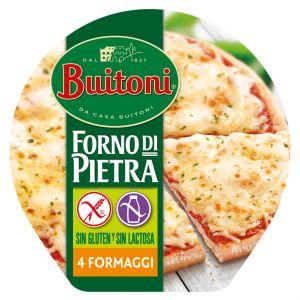 Pizza sin gluten 4 formaggi buitoni 360g