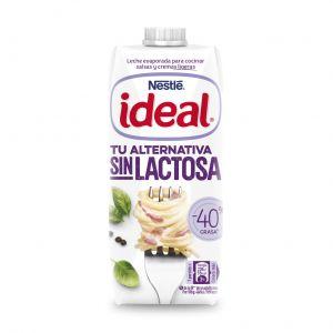 Leche evaporada sin lactosa nestle ideal  525 gr