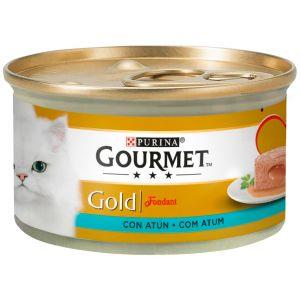 Comida gato fondant atun gourmet gold  85g