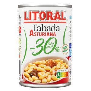 Fabada asturiana 30%menos de grasa litoral 435g