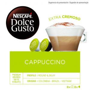 Cafe en capsulas capuccino dolce gusto 16 capsulas