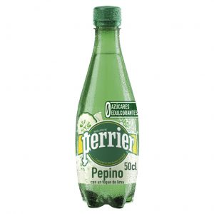 Agua mineral c/gas pepino perrier pet 50cl