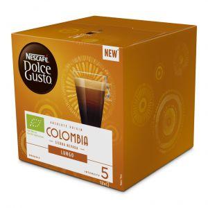 Cafe en capsulas ecologico origen colombia dolce gusto 12 capsulas