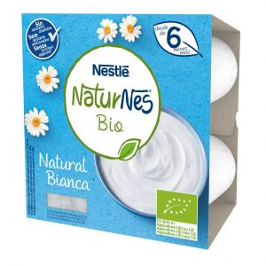 Postre lacteo bio natural naturnes  p4x90g