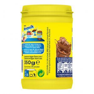 Cacao instantaneo 30% menos azúcar nesquik 350g