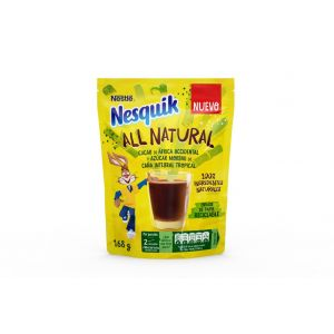 Cacao instant all natural nesquik 168gr