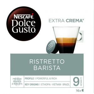 Cafe en capsulas barista dolce gusto 16 capsulas