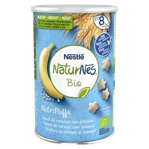 Snack cereales bio platano naturnes 35g