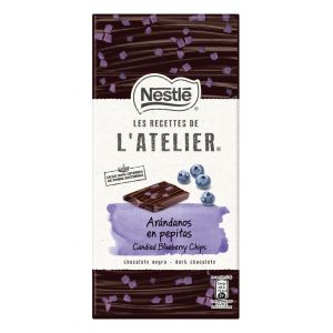 Chocolate negro arandanos latelier 105gr