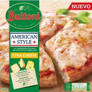 Pizza estilo americano extra cheese buitoni 410gr