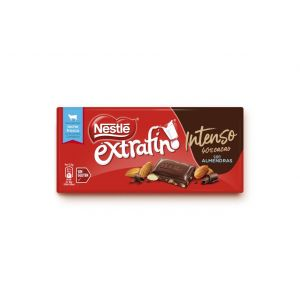 chocolate intenso almendra nestlé 123g