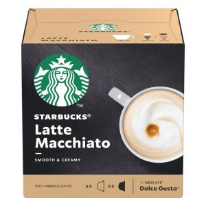 Cafe caps dolce gudto  latte macchiato starbucks 12ud
