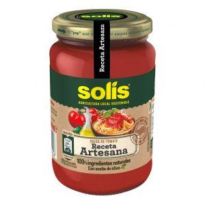 Tomate frito sin trocitos solis tarro 350gr