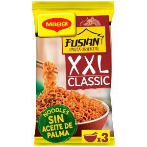 Pasta oriental xxl classic al toque de ajo maggi 185gr