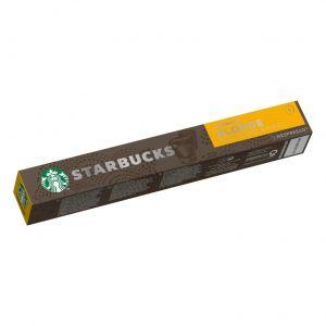 Café en cápsulas nespresso blonde espresso roast starbucks 53gr 10 cap