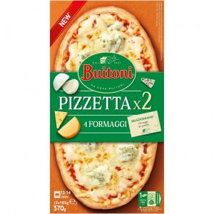Pizzeta 4 quesos buitoni pack2 185gr