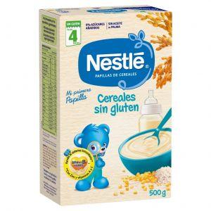 Papilla cereal sin gluten nestle 500gr
