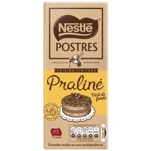 Chocolate postre praline nestle 170gr