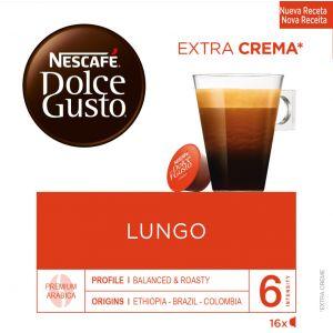 Cafe en capsulas café largo dolce gusto 16 capsulas