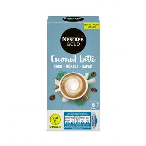 Café latte coco nescafe gold 6x 16g