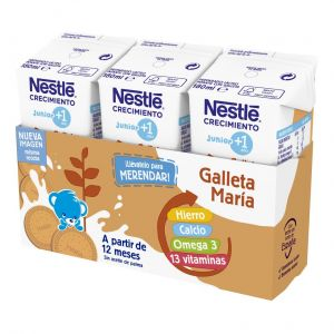 Leche crecimineto junior+1 galleta nestle p3x180ml