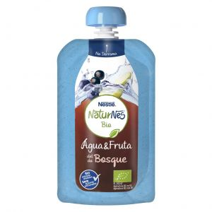 Agua frutos bosque naturnes bio 120ml