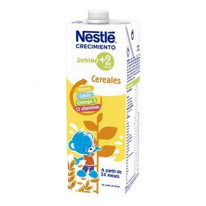 Leche crecimiento junior 2+ cereales  nestle 1l