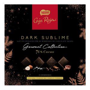Bombon negro sublime gourmet caja roja 114gr
