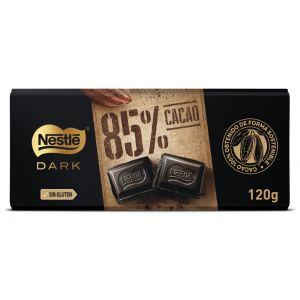 Choolate negro 85% nestle dark 120gr