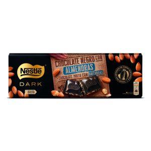 Chocolate negro almendras nestle dark  270 gr
