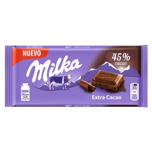 Chocolate extra cacao milka 100gr