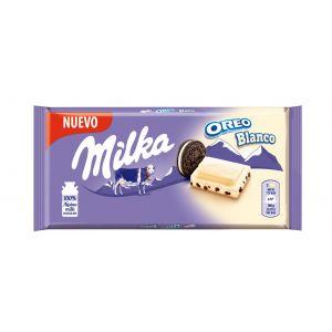 Chocolate blanco con oreo milka 100gr