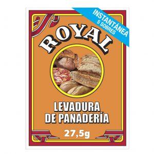 Levadura panadera royal paq 24,5gr