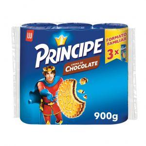 Galleta principe rellena chocolate lu  p3x100g