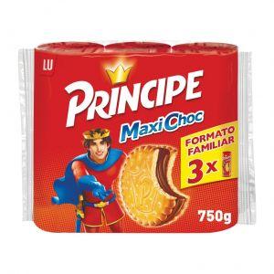 Galleta principe doble chocolate lu  p3x250g