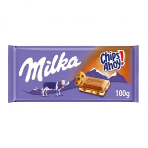 Chocolate  chips ahoy milka  100g