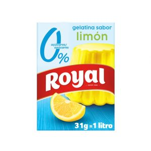 Gelatina de limón light royal 31g