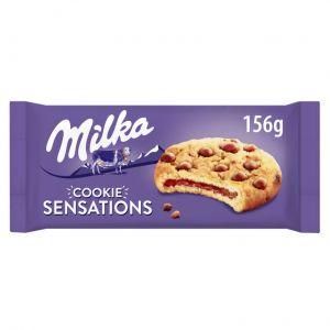 Galleta cookie sensation  milka sensation 156g