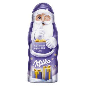 Chocolatina papa noel milka 45 gr