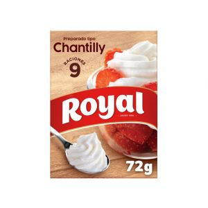Preparado chantilly nata montada royal 72g