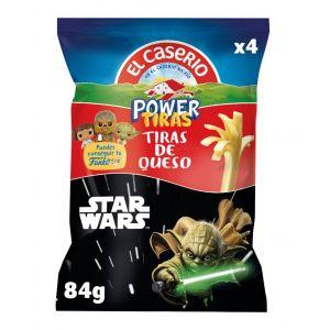 Queso snack divertiras el caserio 84g
