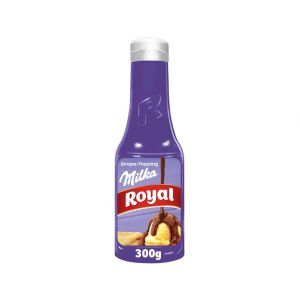 Topping de chocolate milka royal 300g