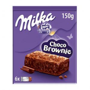 Brownie  choco milka 150g
