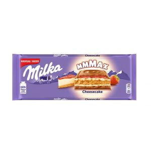 Chocolate cheesecake strawberry milka 300gr
